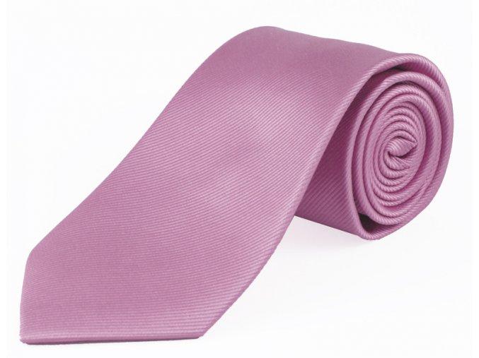 Hedvábná kravata Brinkleys - světle fialová