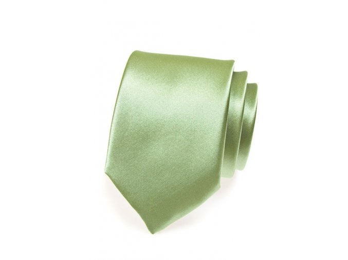 Kravata Avantgard - světle zelená