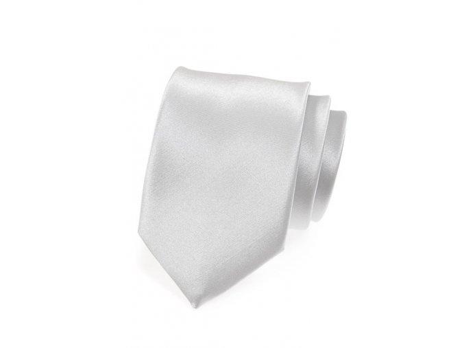 Kravata Avantgard - stříbrná