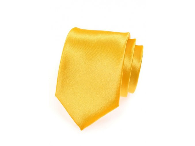 Kravata Avantgard - žlutá