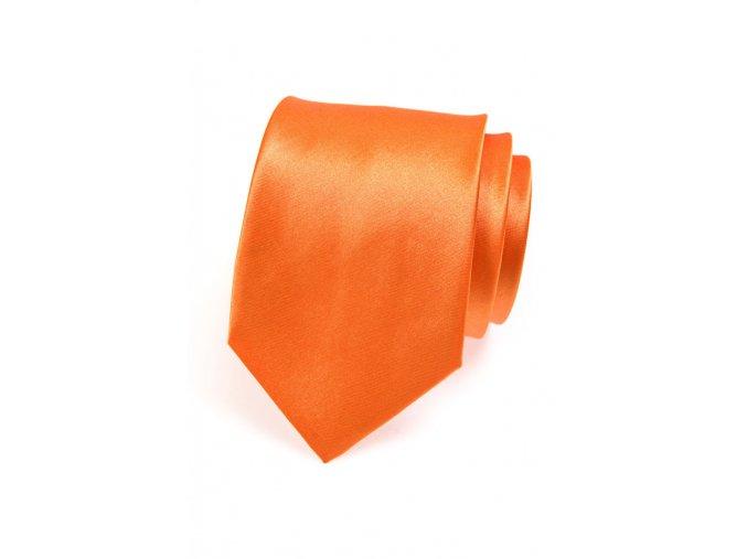 Kravata Avantgard - oranžová