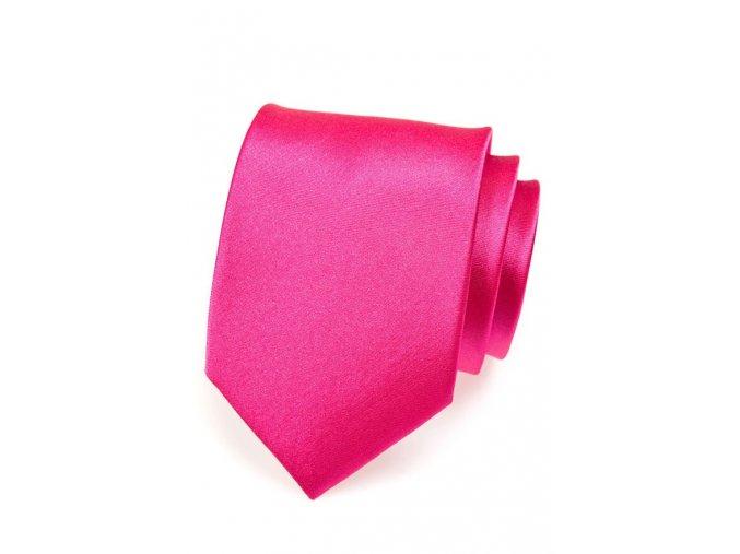 Kravata Avantgard - tmavě růžová