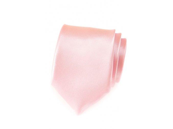 Kravata Avantgard - světle růžová