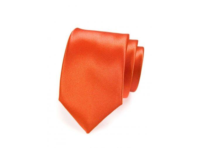 Kravata Avantgard Lux - oranžová
