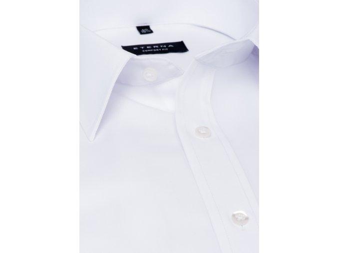 """Společenská košile Eterna Gala Comfort Fit """"Chambray"""" Bílá"""