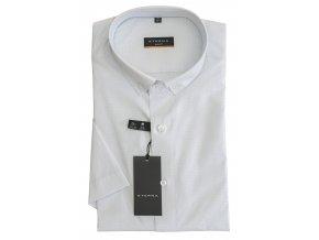 Pánská nežehlivá košile Eterna Slim Fit s krátkým rukávem