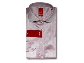 Košile Pure Slim Fit Růžová