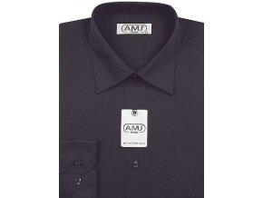 Pánská košile AMJ Classic - tmavě šedá