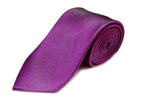 Hedvábná kravata Brinkleys - tmavě šeříková
