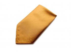 Společenský kapesníček Brinkleys - zlatý