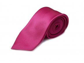 Hedvábná kravata Brinkleys - fuchsie