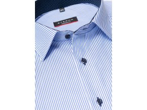"Košile Eterna Modern Fit ""Streifen Twill"" pruhovaná modrá / bílá"