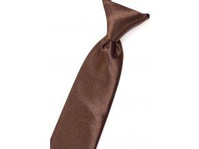 Chlapecká kravata Avantgard - hnědá