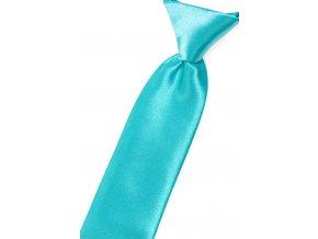 Chlapecká kravata Avantgard Young - tyrkysová