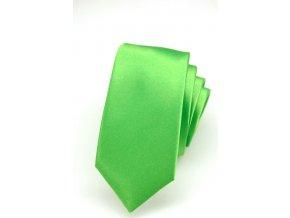 Úzká kravata Avantgard Lux - zelená