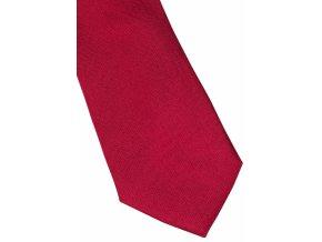 Hedvábná kravata Eterna - čerevná