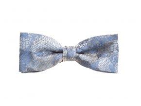 Dvojitý motýlek Brinkleys Modern s kapesníčkem - světle modrý