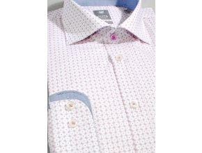 Košile Pure Extra Slim Fit Růžová