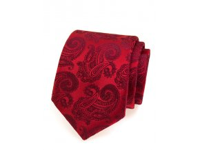 Společenská kravata Avantgard Lux - červená