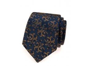 Společenská kravata Avantgard Lux - modrá