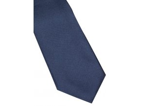 Úzká hedvábná kravata Eterna - navy modrá