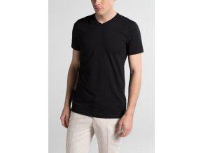 Pánské triko Eterna - černé