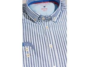 Košile Pure Slim Fit Modrá