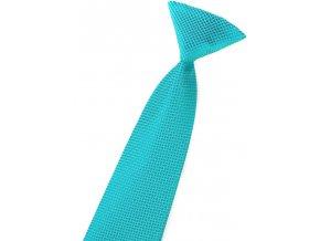Chlapecká kravata Avantgard - tyrkysová