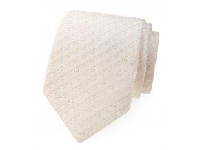 Společenská kravata Avantgard Lux - ivory