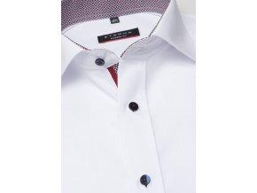 """Košile Eterna Modern Fit """"Chambray"""" Bílá"""