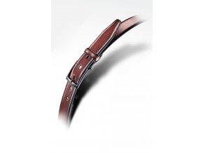 Pánský kožený opasek - hnědý