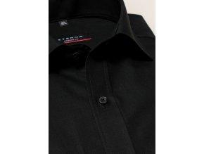 """Košile Eterna Modern Fit """"Popeline"""" Černá"""