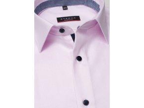 "Košile Eterna Modern Fit ""Streifen Twill"" Růžová"