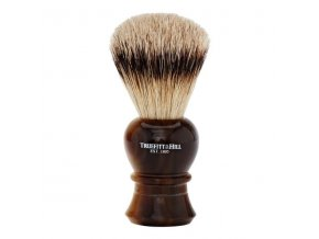 T&H Regency Shaving Brush Horn