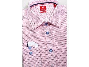 Košile Pure Slim Fit - City Červená