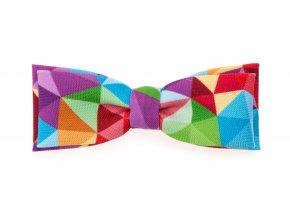 Dvojitý motýlek Avantgard Slim - vícebarevný