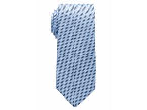 Vzorovaná kravata Eterna - světle modrá