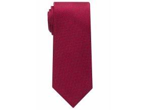 Vzorovaná kravata Eterna - červená