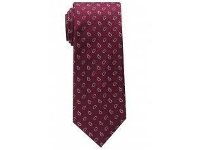 Vzorovaná kravata Eterna - bordó