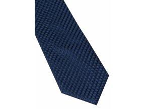 Hedvábná kravata Eterna - pruhovaná modrá