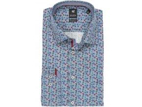 Nežehlivá košile Pure Modern Fit Modrá