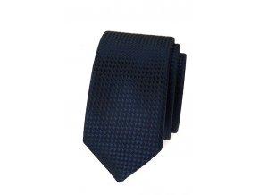 Úzká kravata Avantgard Lux - modrá
