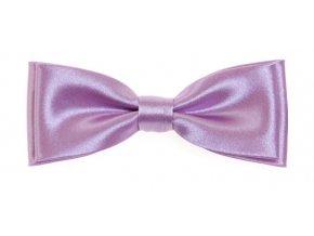 Dvojitý motýlek Avantgard s kapesníčkem - fialový