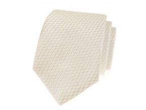 Společenská kravata Avantgard Lux - smetanová