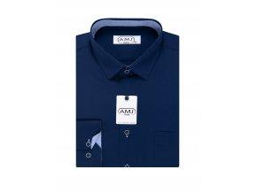 Pánská košile AMJ Comfort fit - modrá
