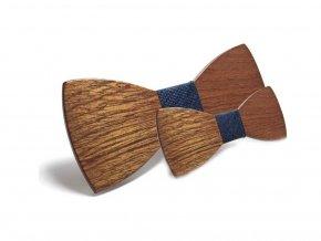 Dřevěný motýlek - COMBO