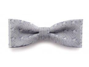 Dvojitý motýlek Avantgard Slim - šedý