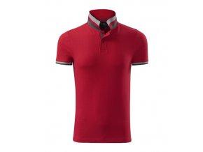 Polokošile Collar Up - Červená