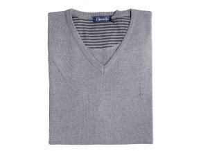 Pánská vesta Ilmodo - šedá
