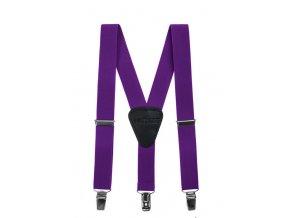 Chlapecké šle Avantgard - fialové, 120 cm